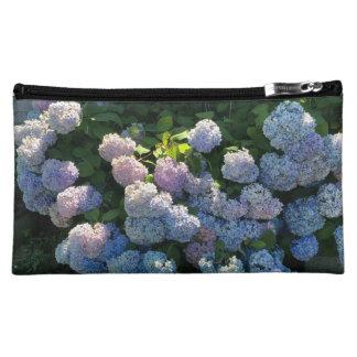 Zak van de Ritssluiting van de hydrangea hortensia Cosmetic Tasje