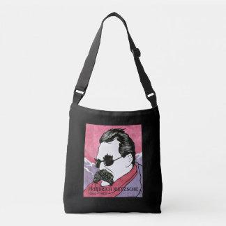 """Zak van het Lichaam van """"Friedrich Nietzsche"""" de Crossbody Tas"""