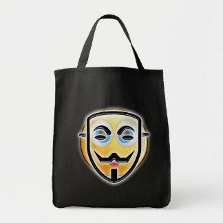 Zak van het Snoep van het Masker Emoji van Draagtas