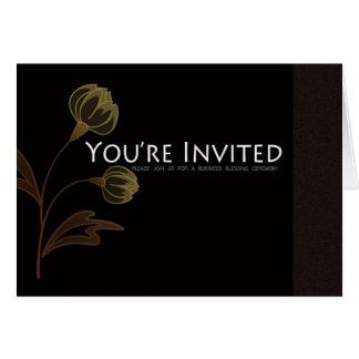 Zaken die de Kaart van de Uitnodiging zegenen - u