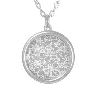 Zaken een background3 zilver vergulden ketting