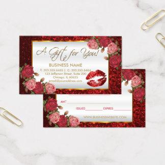 Zaken van de Lippenstift van het Certificaat van Visitekaartjes