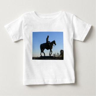 Zal Rogers in de Zonsondergang Baby T Shirts
