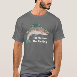 Zalm zou ik eerder vissen t shirt
