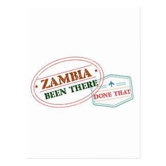 Zambia daar Gedaan dat Briefkaart