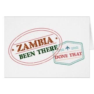 Zambia daar Gedaan dat Kaart