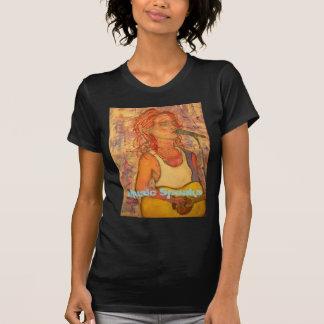 zanger songwriters de Muziek spreekt T Shirt