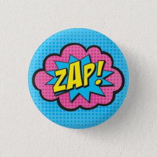 ZAP! De Speld van Superhero GV2 Ronde Button 3,2 Cm