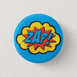 ZAP! PC van de Speld van Superhero Ronde Button 3,2 Cm