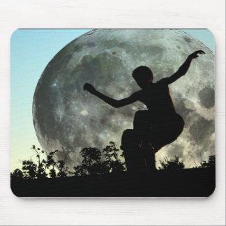 ZAZ103.Sk8ter de Lancering van de Maan Muismat