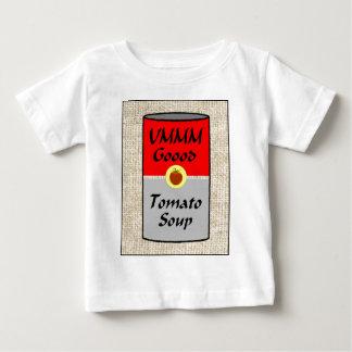 ZAZ422 de Soep van de tomaat Baby T Shirts