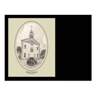 ZAZ435 Kirtland Tempel #2 Briefkaart