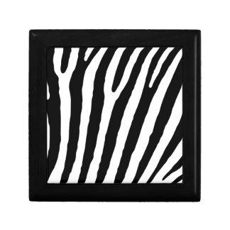 zebra decoratiedoosje