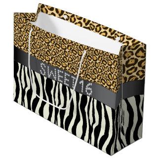 Zebra/Snoepje 16 de Zak L van de Diamant van de Groot Cadeauzakje
