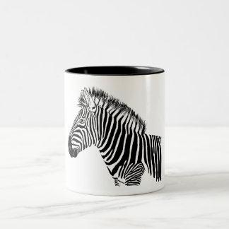 Zebra Tweekleurige Koffiemok