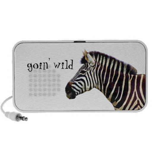 Zebra - Wildernis Goin Luidsprekers