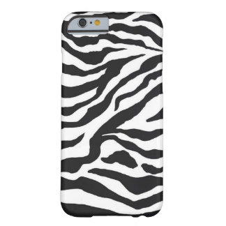 ZEBRAS DOOR EKLEKTIX BARELY THERE iPhone 6 HOESJE