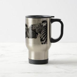 Zebras in Afrika Reisbeker