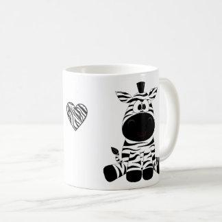 Zebras in Liefde Koffiemok
