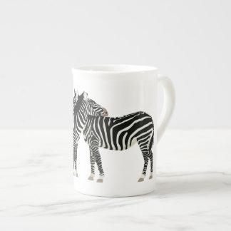 Zebras Theekop