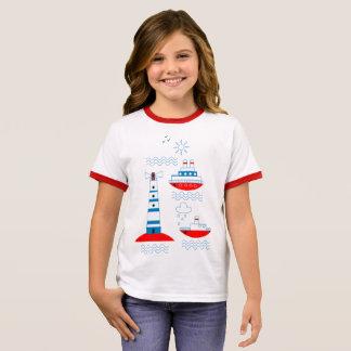 Zee, schepen, vuurtorens t shirts