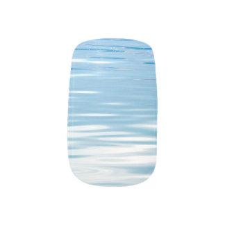 Zee van het Blauw en het Wit van de Kalmte Minx Nail Folie