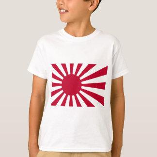 Zee Vlag van Japan - de Japanse het Toenemen Vlag T Shirt