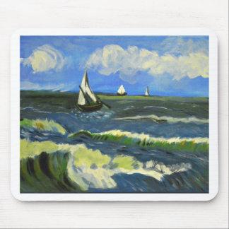 Zeegezicht in saintes-Maries, Van Gogh Muismatten