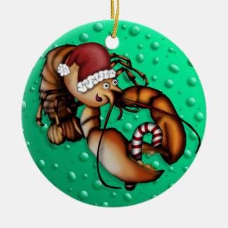 Zeekreeft Claus, ornament