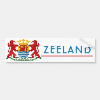 Zeeland Bumpersticker