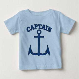 Zeeman Kapitein Blue Anchor Baby Boy T-shirt
