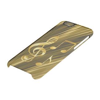 Zeer belangrijke gouden van de viool doorzichtig iPhone 6/6S hoesje