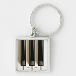 """Zeer belangrijke"""" Ketting van de piano van het Toe Sleutelhanger"""