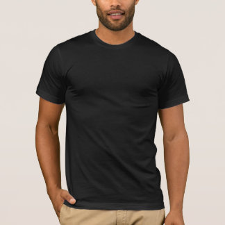 Zeer Duidelijke Unisex-T-shirt Black> T Shirt