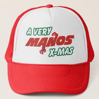 Zeer Kerstmis Manos! Trucker Pet