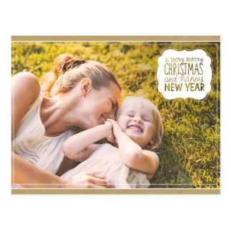 Zeer Vrolijke Kerstmis & het Gelukkige Briefkaart