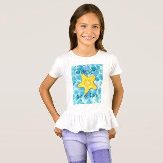 """Zeester in Oceaan """"Zee van het Leven """" T Shirt"""