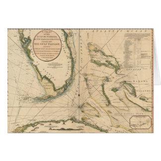 Zeevaart Grafiek van de Golf van Florida Kaart
