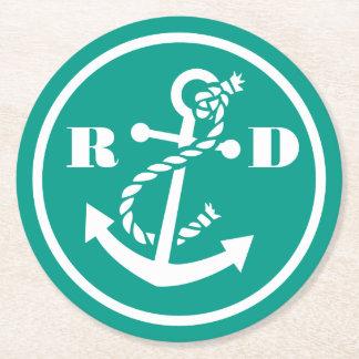 Zeevaart Initialen Ronde Viltjes