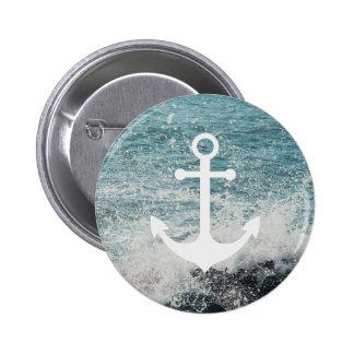 Zeevaart Knoop Ronde Button 5,7 Cm