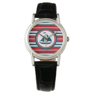 Zeevaart ontwerp horloge