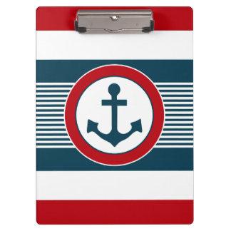 Zeevaart ontwerp klembord