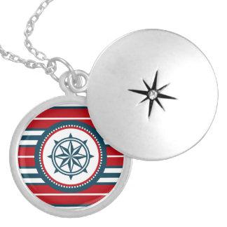Zeevaart ontwerp zilver vergulden ketting