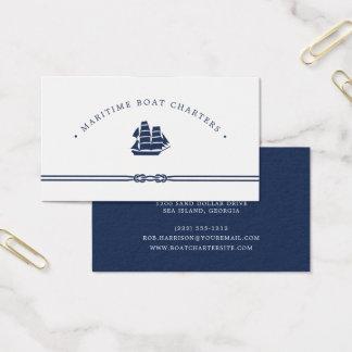 Zeevaart Schip | het Handvest van de Boot Visitekaartjes