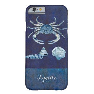 Zeevaart Shells van het Zee van de Krab van de Barely There iPhone 6 Hoesje