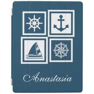 Zeevaart themed ontwerp iPad cover