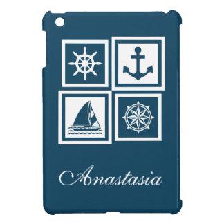 Zeevaart themed ontwerp iPad mini case