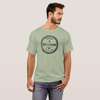 Zeevaart-Vaart van de kade & van het Anker T Shirt