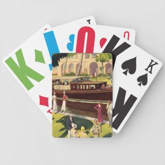 Zeevaart van de Boot van de Motor van het zeil Poker Kaarten
