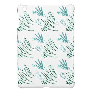 Zeewieren groen op wit hoesjes voor iPad mini